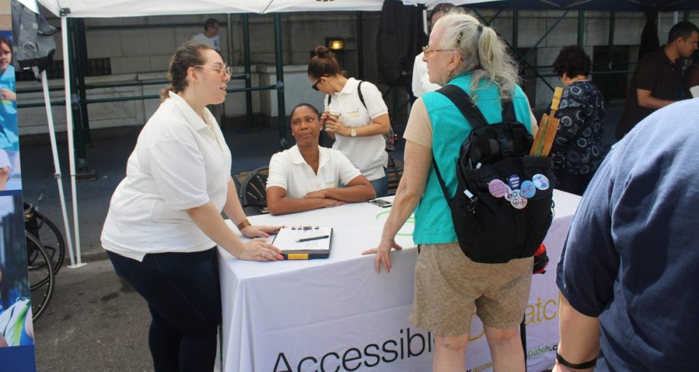 Accessible Dispatch at the NYC Disability Pride Parade