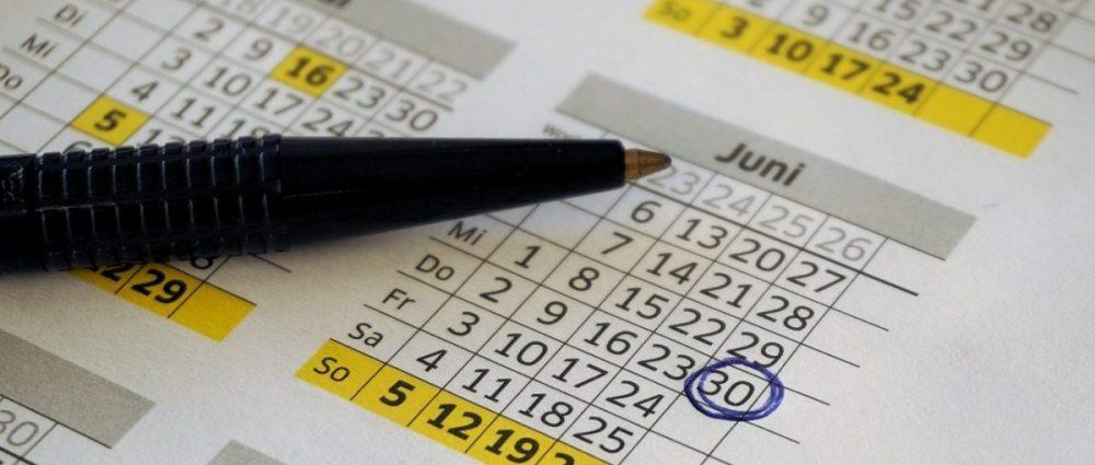 Calendar -- Upcoming Events