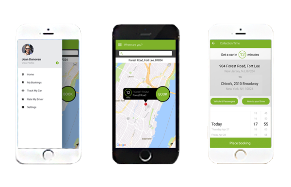Accessible Dispatch NYC App multiple view