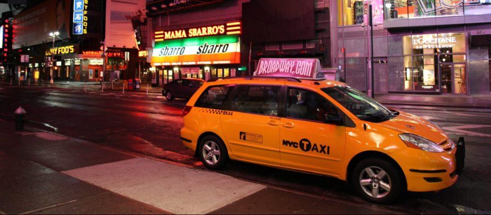 Blog Post Header Image: Yellow Taxi