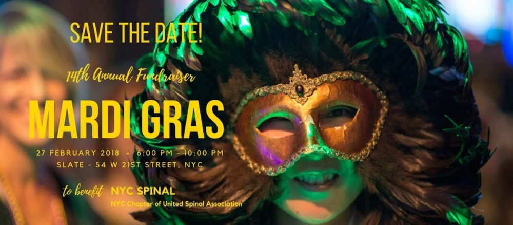 Accessible Dispatch Blog Header Image: United Spinal Association Mardi Gras Event