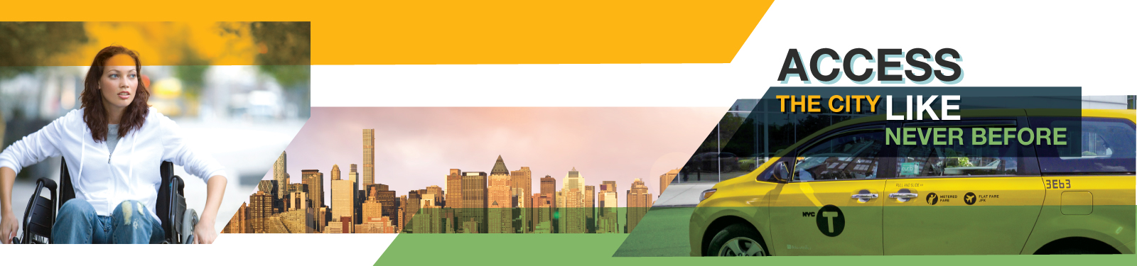 Header Image: Access the city like never before