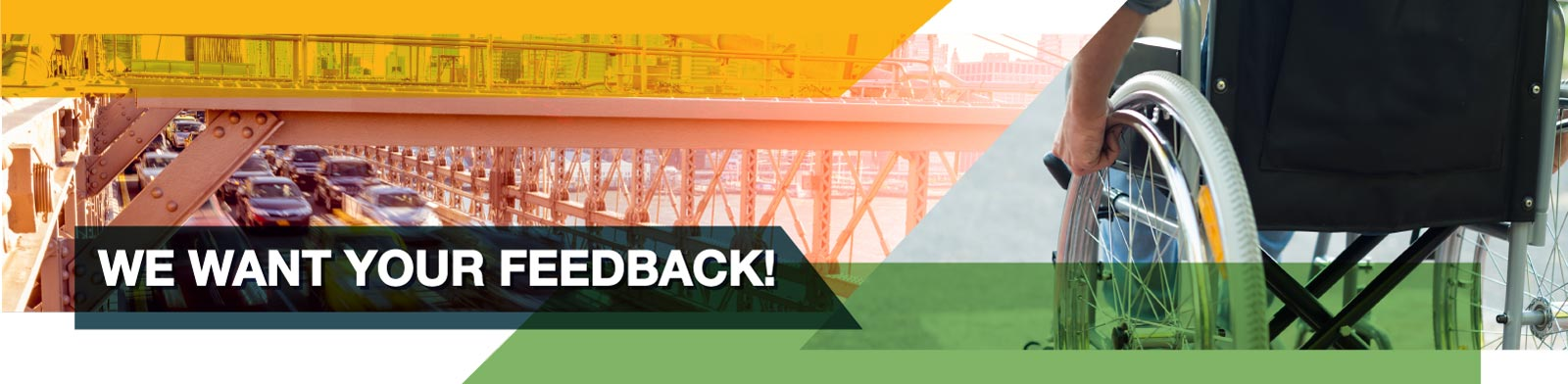 Header Image: We want your feedback!