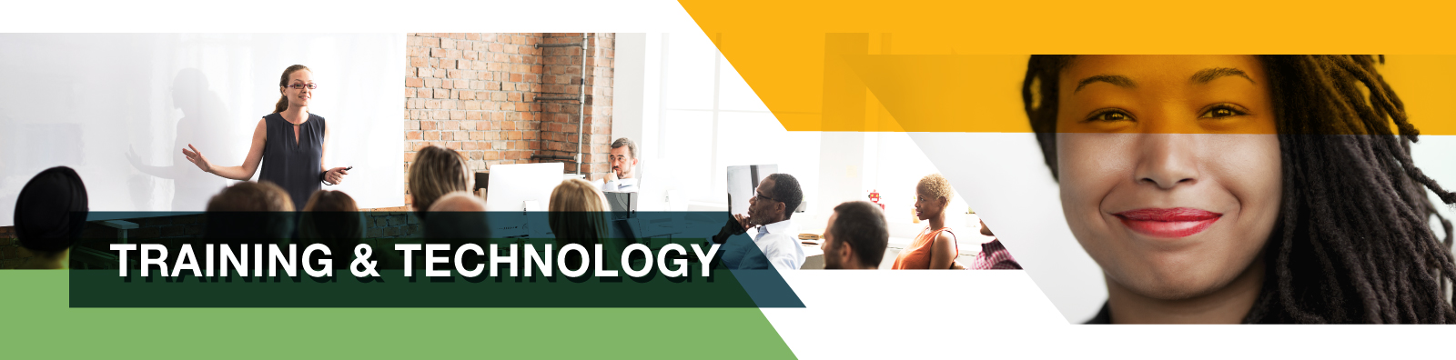 Header Image: Training and technology